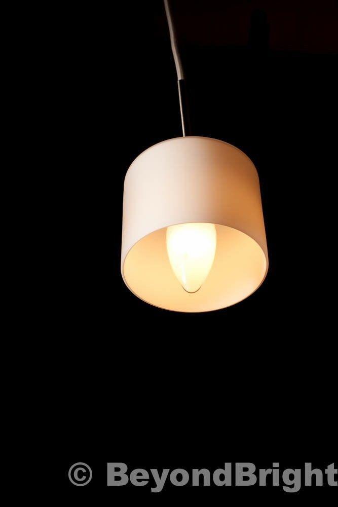 Retro Lighting Zing Ceiling Pendant Light In White