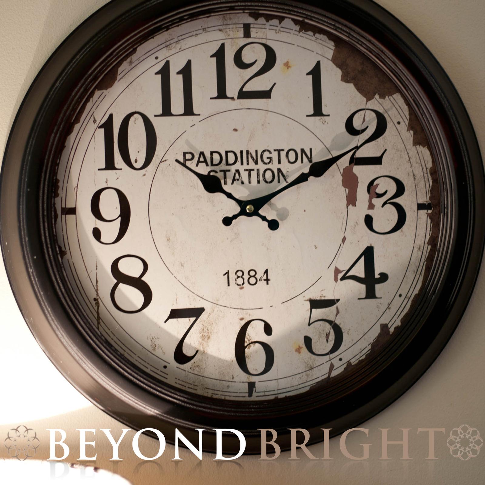 New Large Paddington Station Wall Clock Industrial Vintage
