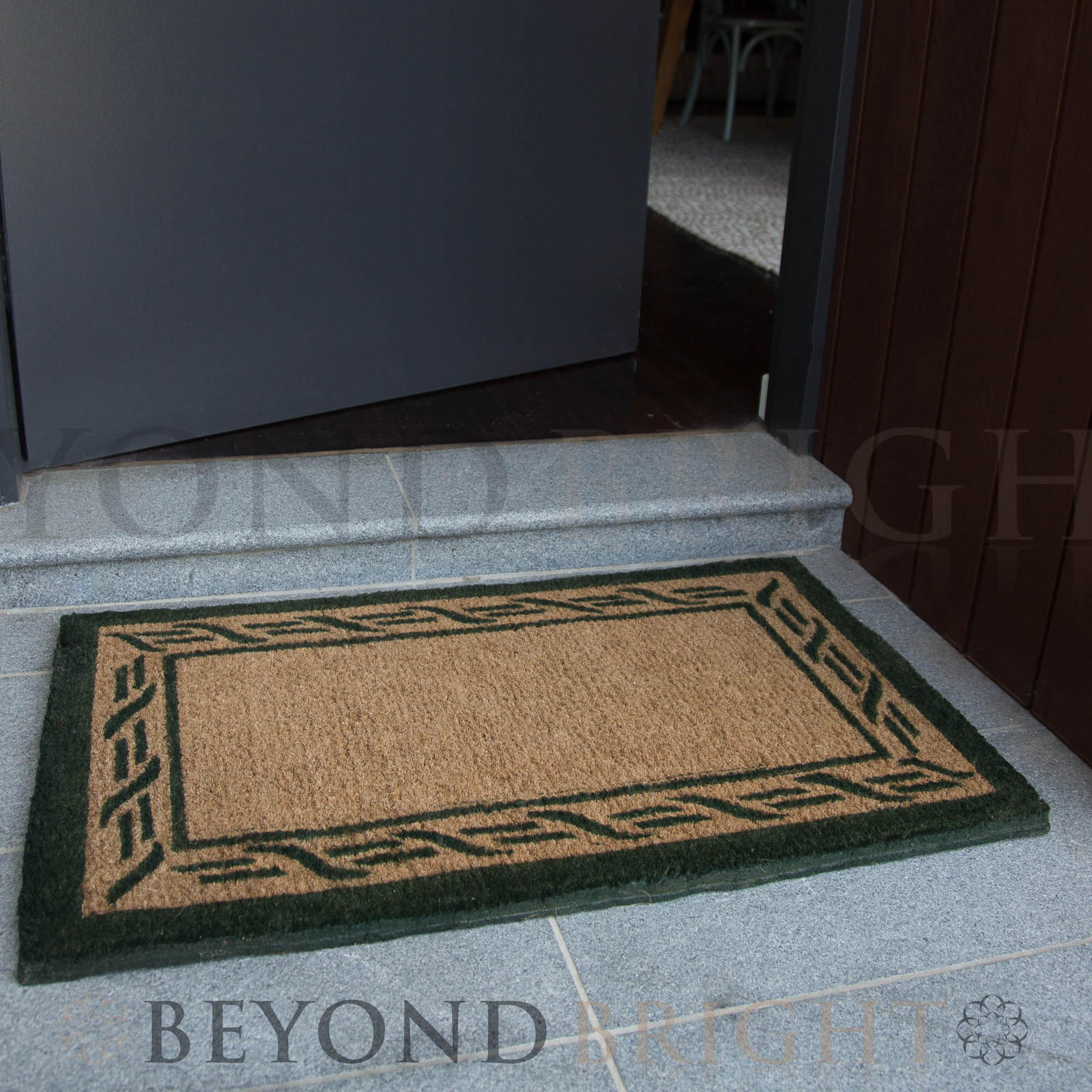 Doormat 55x90cm Gate Long Coir Door Mat Outdoor Rugs Heavy