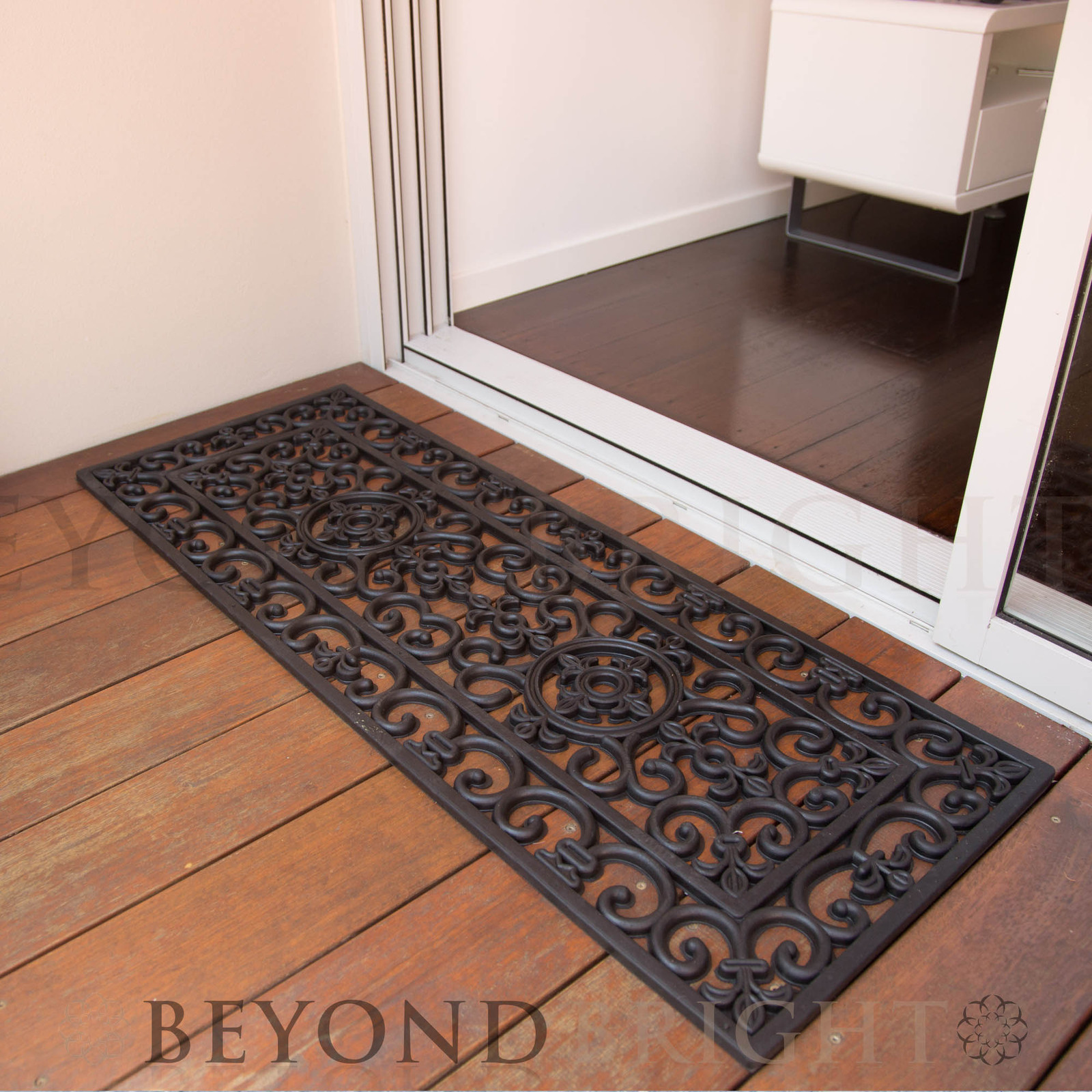 Long 45 X 120cm Rubber Door Mat