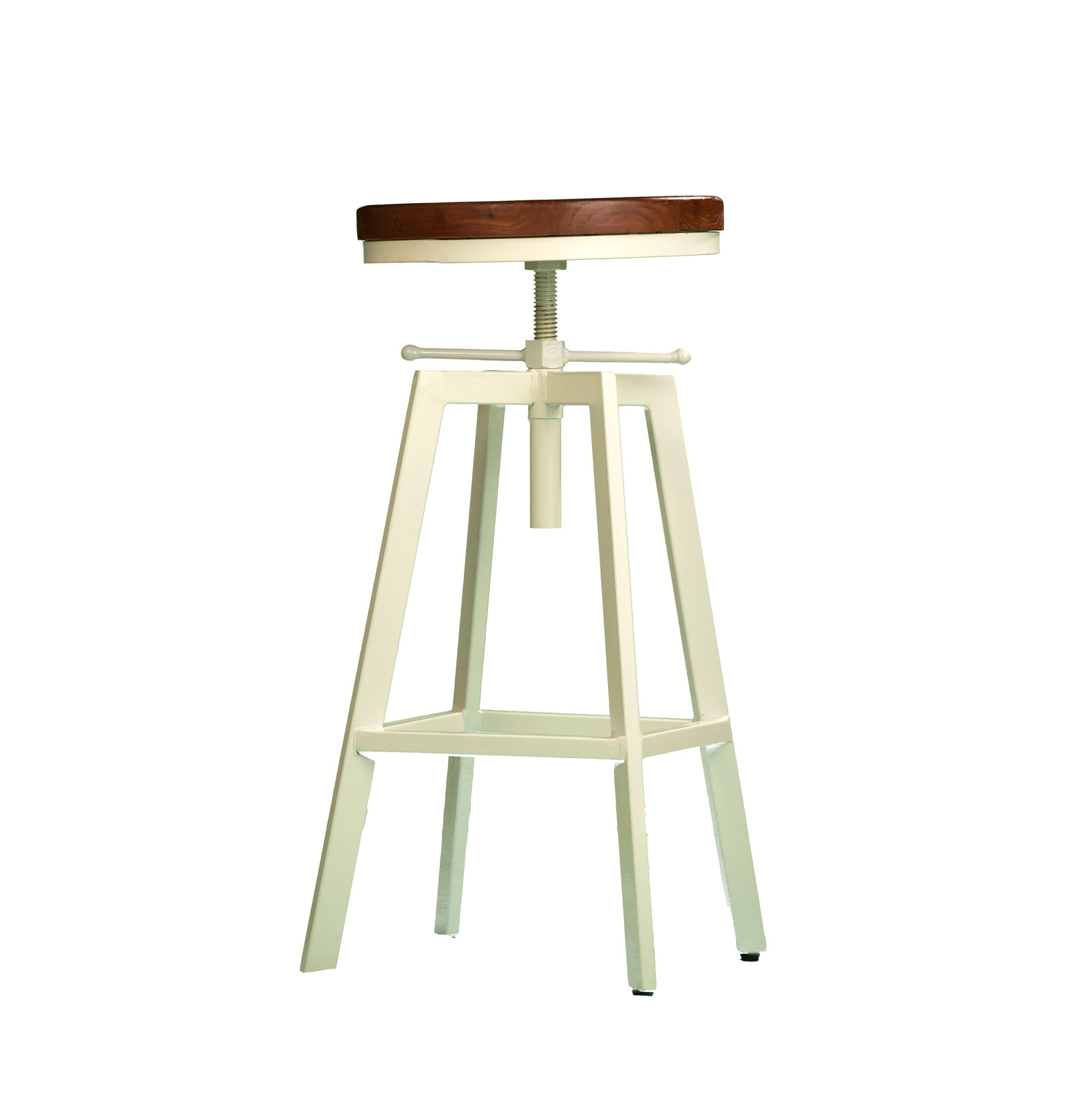 2x Metal Bar Stool NYX Kitchen Chair Swivel Adjustable  : ST 2xNYX WHT from www.ebay.com.au size 1575 x 1600 jpeg 107kB