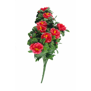 Rose Bunch UV Stabalised - 45cm - Red