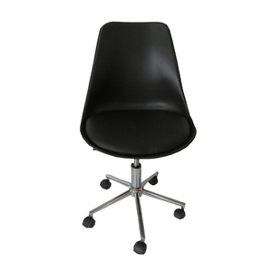 Mora Padded Seat Gas Lift Office Chair - Black