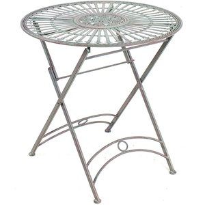 Provence Collection Outdoor Folding Round Table -  68x73cm