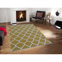 Sweden 68 Kilim Rug - Yellow - 160x230