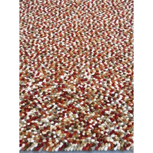 Jelly Bean Wool Rug - Autumn