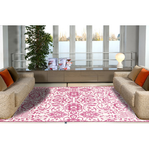 Sterling Lace Design Rug - Pink 160x230cm