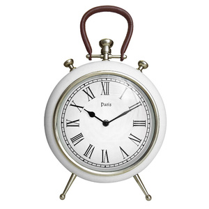 27cm Remy White Wall Clock . Mantle