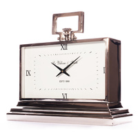 William & Smith 42cm Mantle Clock - White