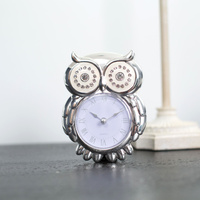 11cm Diamond Owl Clock