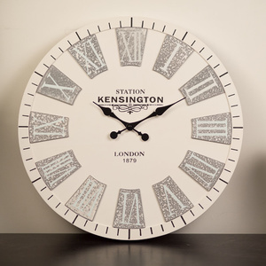 50cm Kensington Wall Clock - White