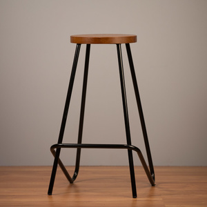 Elm Bar Stool - Black