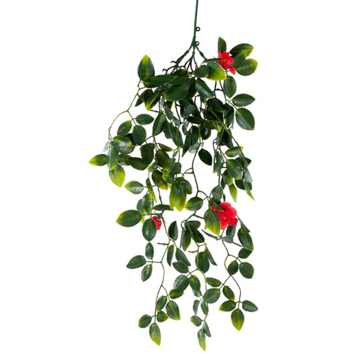 Mixed Hanging Foliage UV Stabalised - 60cm - Red