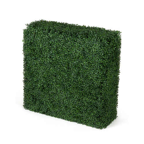 Portable Boxwood Hedge UV Stabalised - 75x75x25cm