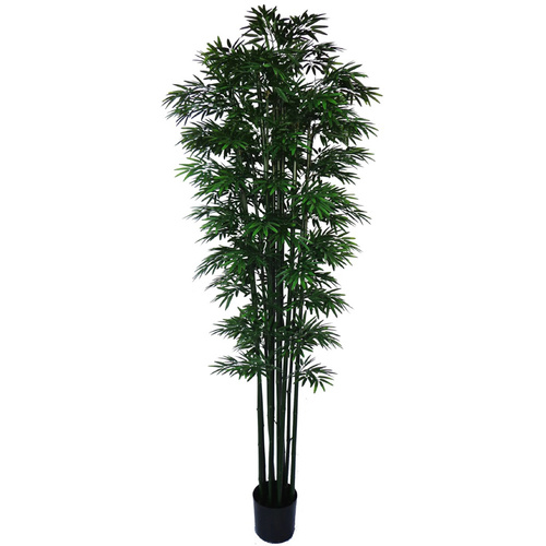 Artificial Japanese Bamboo UV Stabilized - Green Trunk - 2.1m