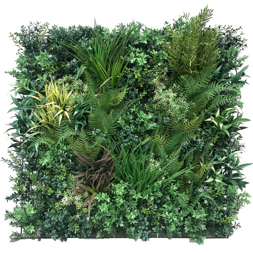 Select Range Vertical Garden UV Stabilized - 90cm x 90cm - Autumn Greenery