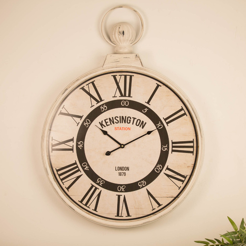 60cm Kensington FOB Metal Wall Clock