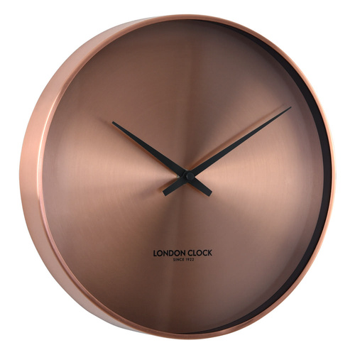 London Clock Company Element Cu Copper Silent Wall Clock 28cm
