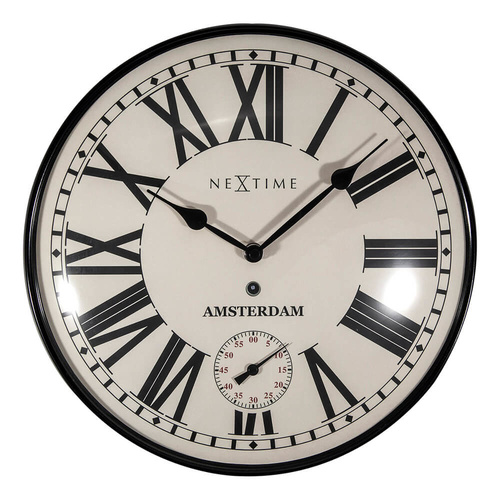 NeXtime Amsterdam Dome Wall Clock - 30cm