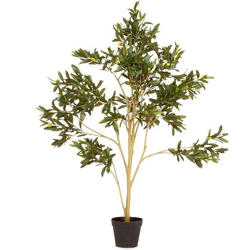 Artificial Faux Olive Tree Potted Flower Plant - Green - 50x120cm