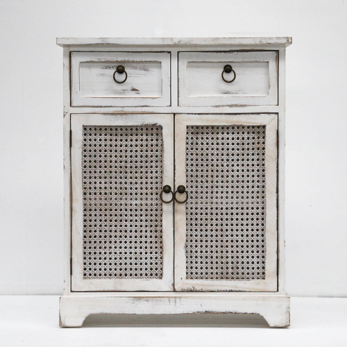 Lorette French-Chic Double Door/Drawer Cabinet Buffet - 60x30x75cm