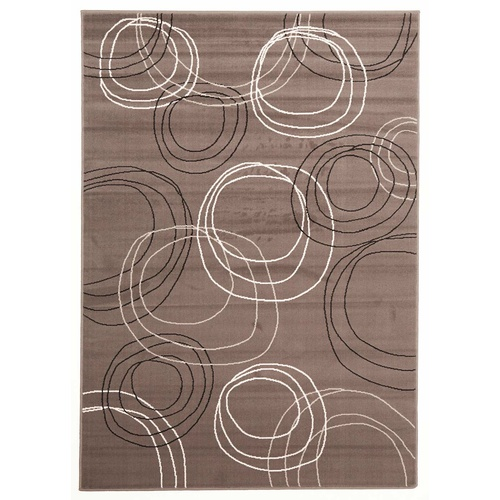 Sterling Modern Swirls Rug - Grey 240x330cm