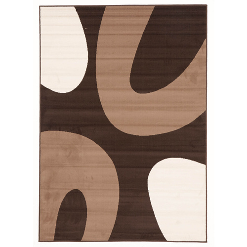 Sterling Rings Rug -s Brown Beige 160x230cm