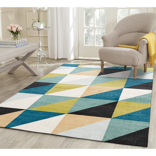 Urban 565 Matrix Rug - Blue Green 230x320cm