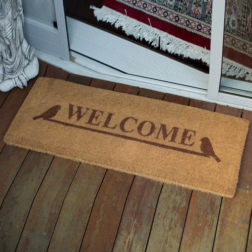 45x120cm Welcome 100% Coir Door Mat