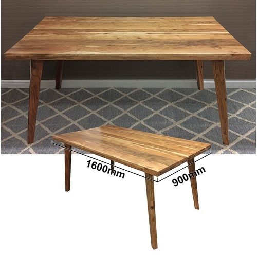 Oora Dining Table - Acacia Wood - 160cm