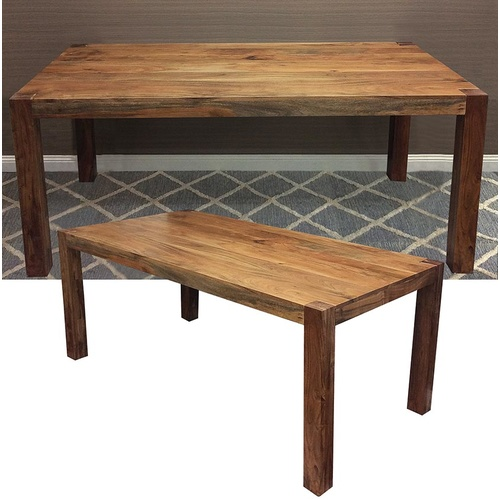 DISCONTINUED - Constance Dining Table - Acacia Wood - 175cm