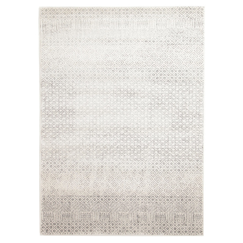 Evolve Diamond Transitional Rug - Grey - 160x230cm
