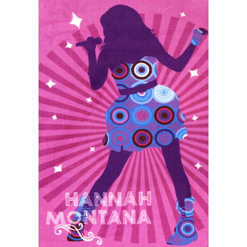 Kids Castle - Hannah Spotlight - Pink - 100x150cm