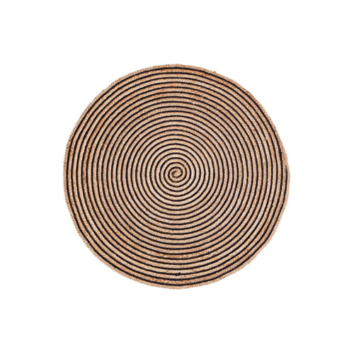 Fab Round Rugs Orchid Jute Round Rug -120cm