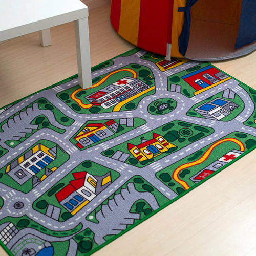 Kids Playmat Suburb - 94 x 133