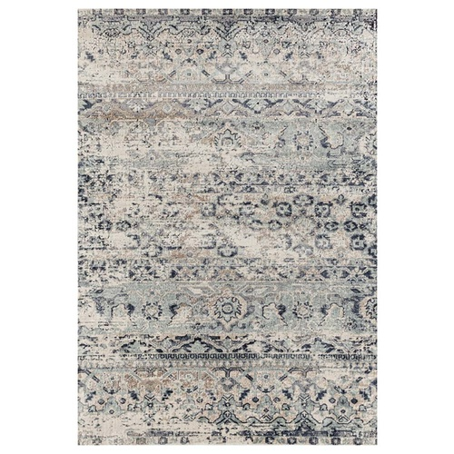 Esquire Segments Traditional Rug - Blue