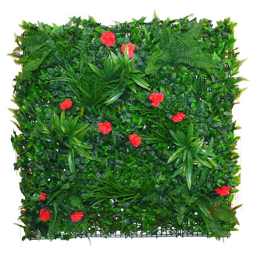Camellia Grove 1x1m - Artificial Plant Vertical Garden Wall Panel 8 Yrs UV Stable