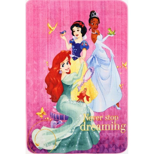 Kids Castle - Licensed Princess Never Stop Dreaming - Multicoloured - 100x150cm