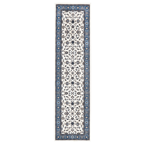 Sydals Classic Border Runner - White with Blue