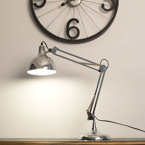 Mini Sly Table Lamp - Chrome
